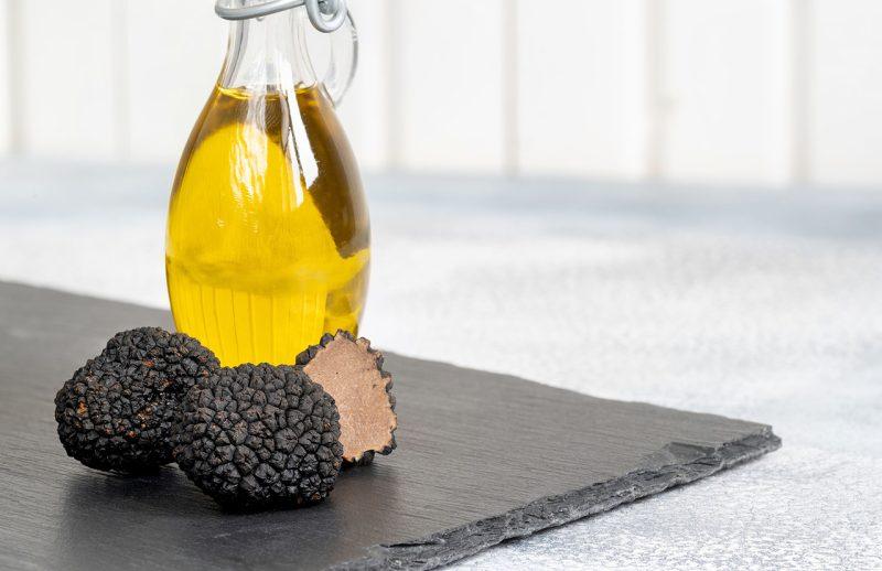 aceite aromatizado a la trufa