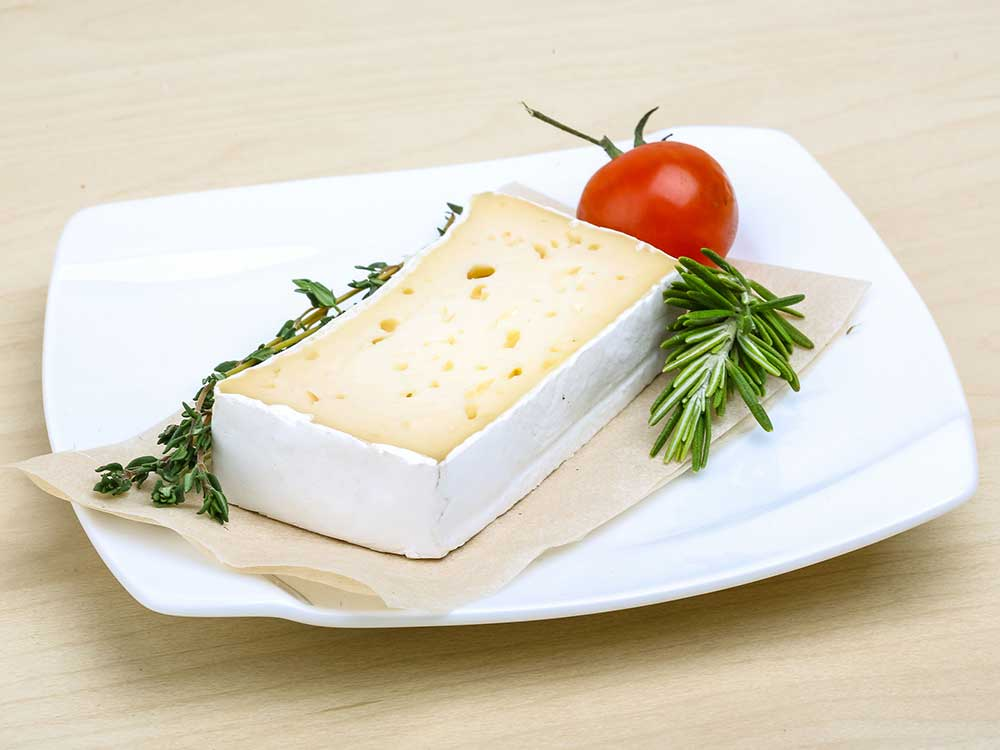 queso brie rectangular