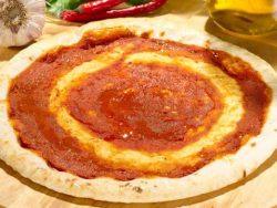 BASE PIZZA ARTESANA TOMATE 5X5