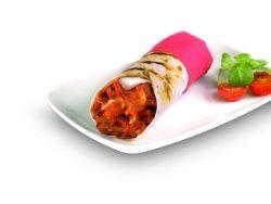 kebab de ternera y yogur