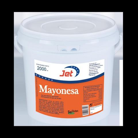 MAYONESA CASERA JET 4X2000ML
