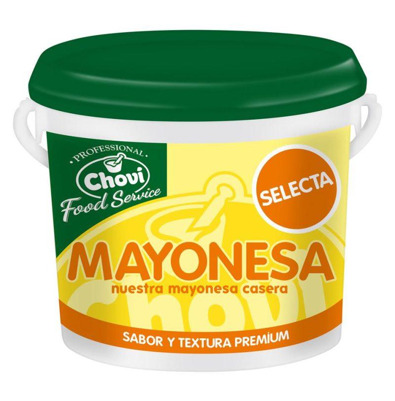 MAYONESA SELECTA NARANJA 4X3700
