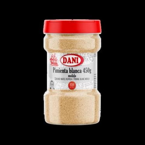 PIMIENTA BLANCA MOLIDA 6X450