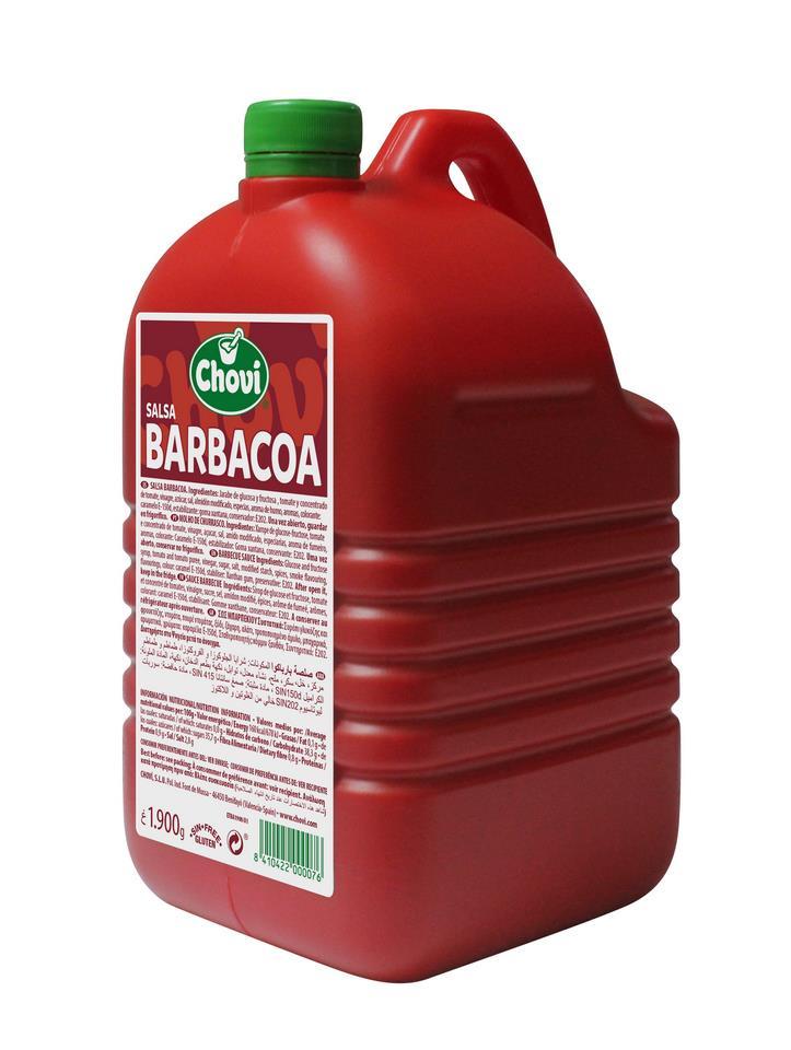 SALSA BARBACOA 6X1900
