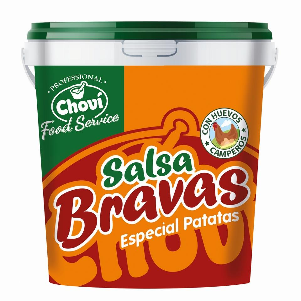SALSA PATATAS BRAVAS CHOVI 6X1000