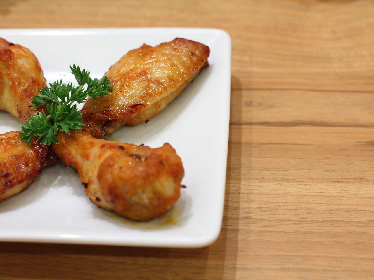 receta de alas de pollo marinadas