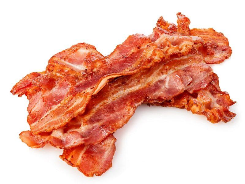 bacon loncheado con piel