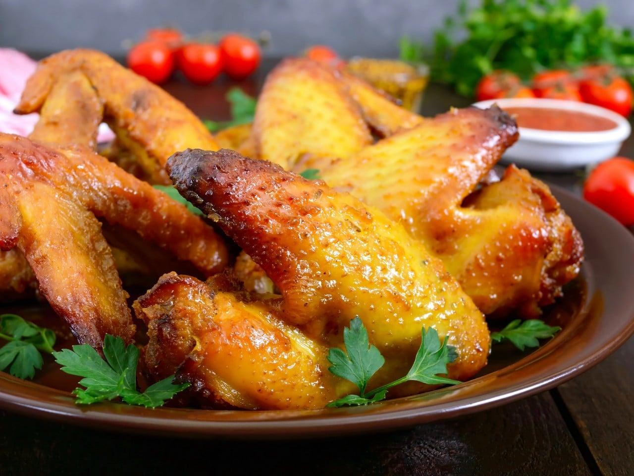 pollo a la miel y mostaza