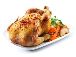 pollo entero asado