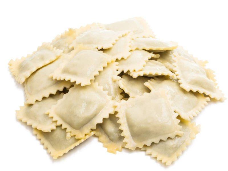 mini ravioli 4 quesos